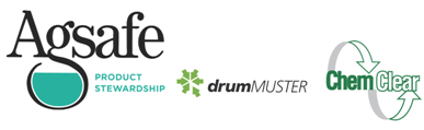 Logos - Agsafe Product Stewardship, DrumMuster, ChemClear