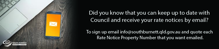 Rates notice banner